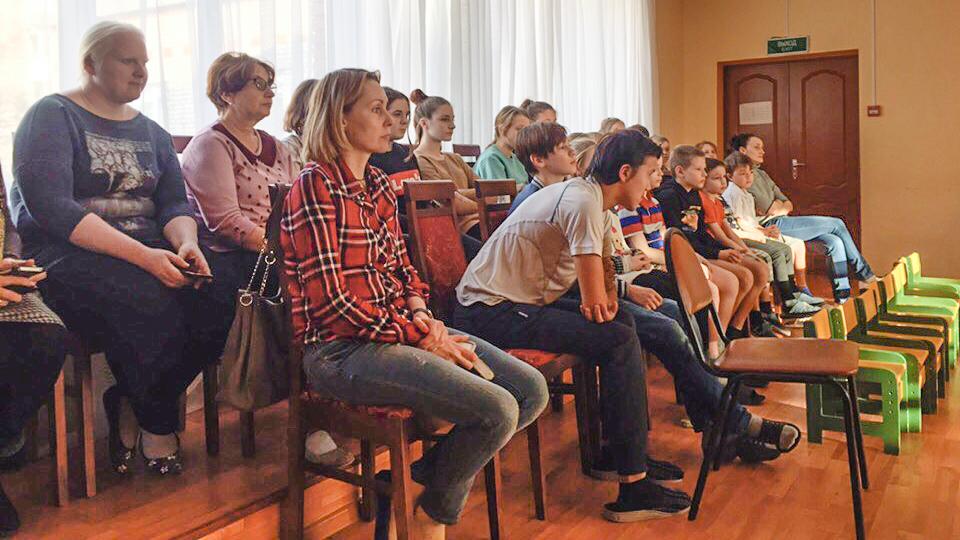 Три Урока живой истории прошли для жителей Сергиево-Посадского района