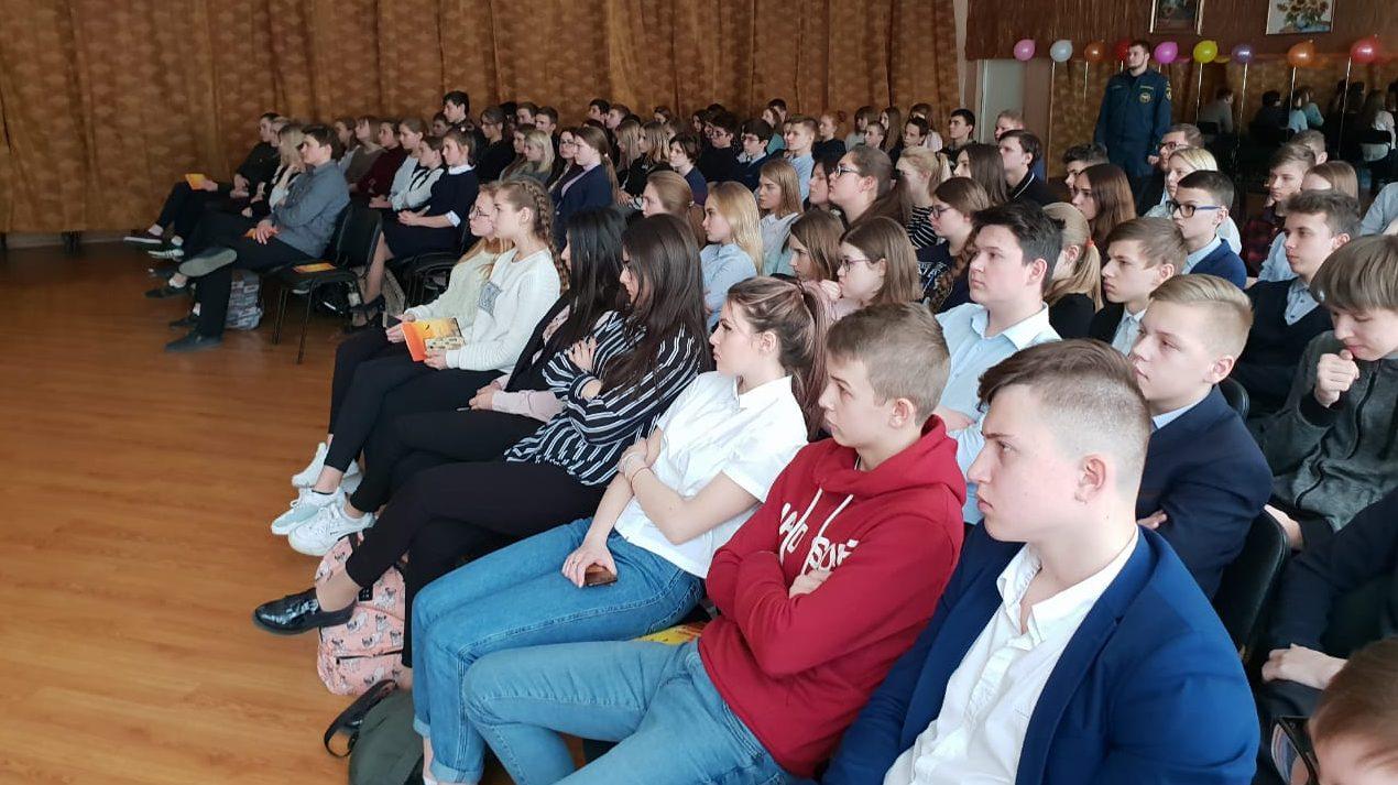 Урок живой истории в Богородской гимназии